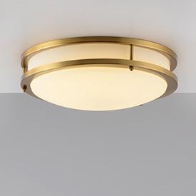全铜玻璃吸顶灯