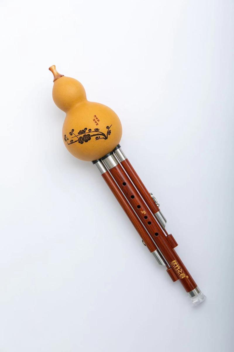 弘扬传统文化 丝竹之音乐器在前行