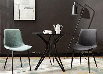 润源餐桌椅组合三件
